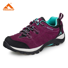 Outdoor Waterproof Hiking Shoes Antiskid Wear-resistant Breathable Trekking Climbing Boots Size 36-44