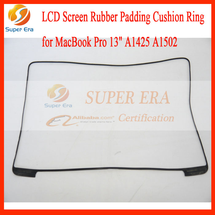 10pcs/lot perfect NEW original for macbook pro 13'' retina A1425 A1502 screen display lcd led rubber bezel frame ring 2012-2015 3pcs lot new for macbook pro retina 13 a1502 2015 lcd led display screen lp133wq2 sja1 lsn133dl02 a02 2013 2014