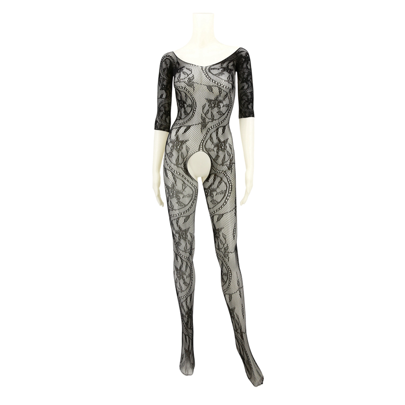 Buy Sexy Lingerie Sexy Bodystockings Sexy Costumes Bodystocking Erotic Underwear Intimates Open Crotch Women Teddies Body Suit D606