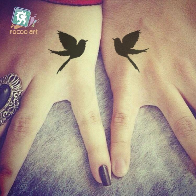 R381 30 De Descontonovo 2016 Dia Dos Namorados Maquiagem Tatuagem Projetos Bonito Coração Amor Carta Pássaro Arte Do Corpo Tatuagem Temporária