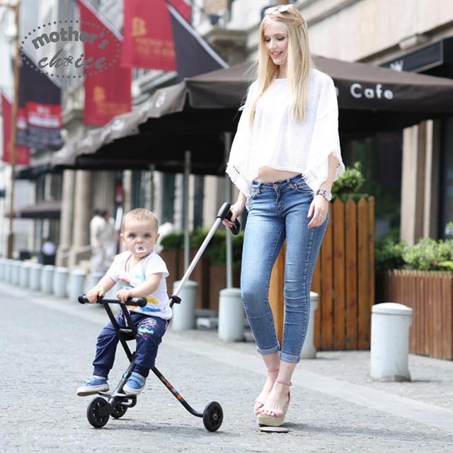 Garantizar la Elección de la Madre de tres ruedas cochecito de bebé cochecito de bebé portátil sin instalación Envío gratis MCS201