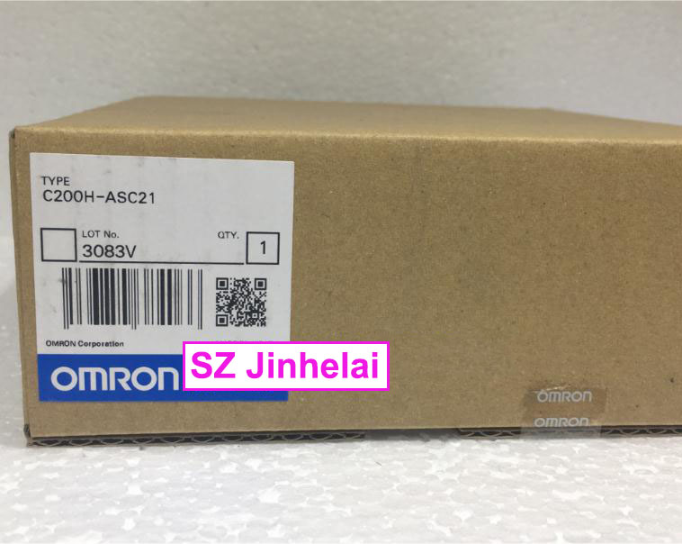 New and original  C200H-ASC21  OMRON  PLC new and original e3x da11 s omron optical fiber amplifier photoelectric switch 12 24vdc