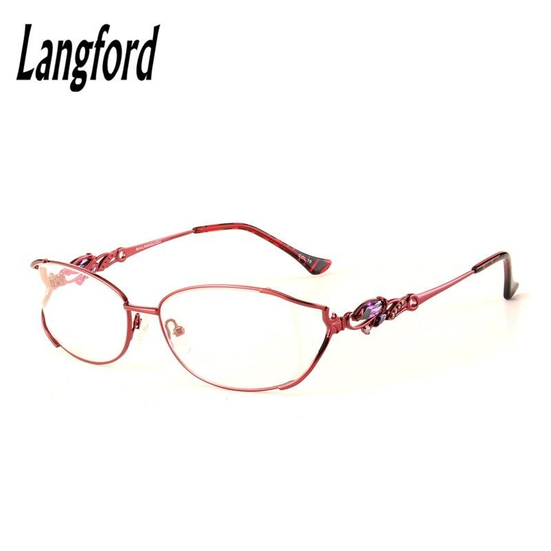 Große rahmen frau volle Augen Gläser Modisch Lady Oval Optische ...