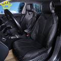 PU Leather Automotive Universal Car Seat Covers  t-shit Fit  seat cover accessories  for kia aio ford focus 2 lada granta Toyota