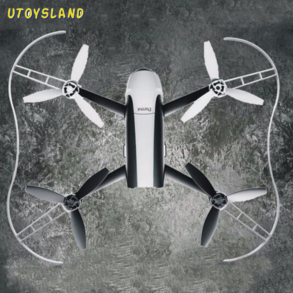 все цены на UTOYSLAND Parrot Protection Propeller Protective Guard Bumper Prop for Parrot Bebop 2.0 RC Drone Quadcopter Parts Accessories онлайн