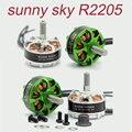 4pcs Original Sunnysky R2205 2300KV 2500KV Brushless Motor CW CCW for FPV Racing Quadcopter Drone Multicopter