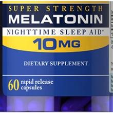 Pride Melatonin Экспресс-релиз 10 мг 60 шт помощь для расслабления и ночного сна
