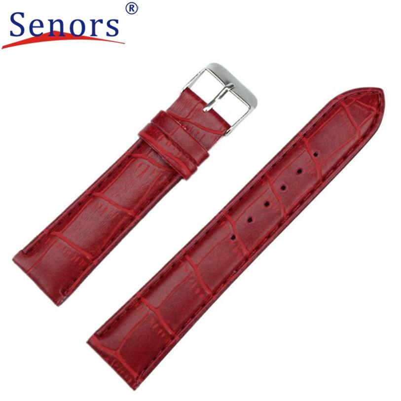 Dropshipping 20mm Fashion Man Women Leather Strap Watchband font b Watch b font BandWatches Relogio Feminino