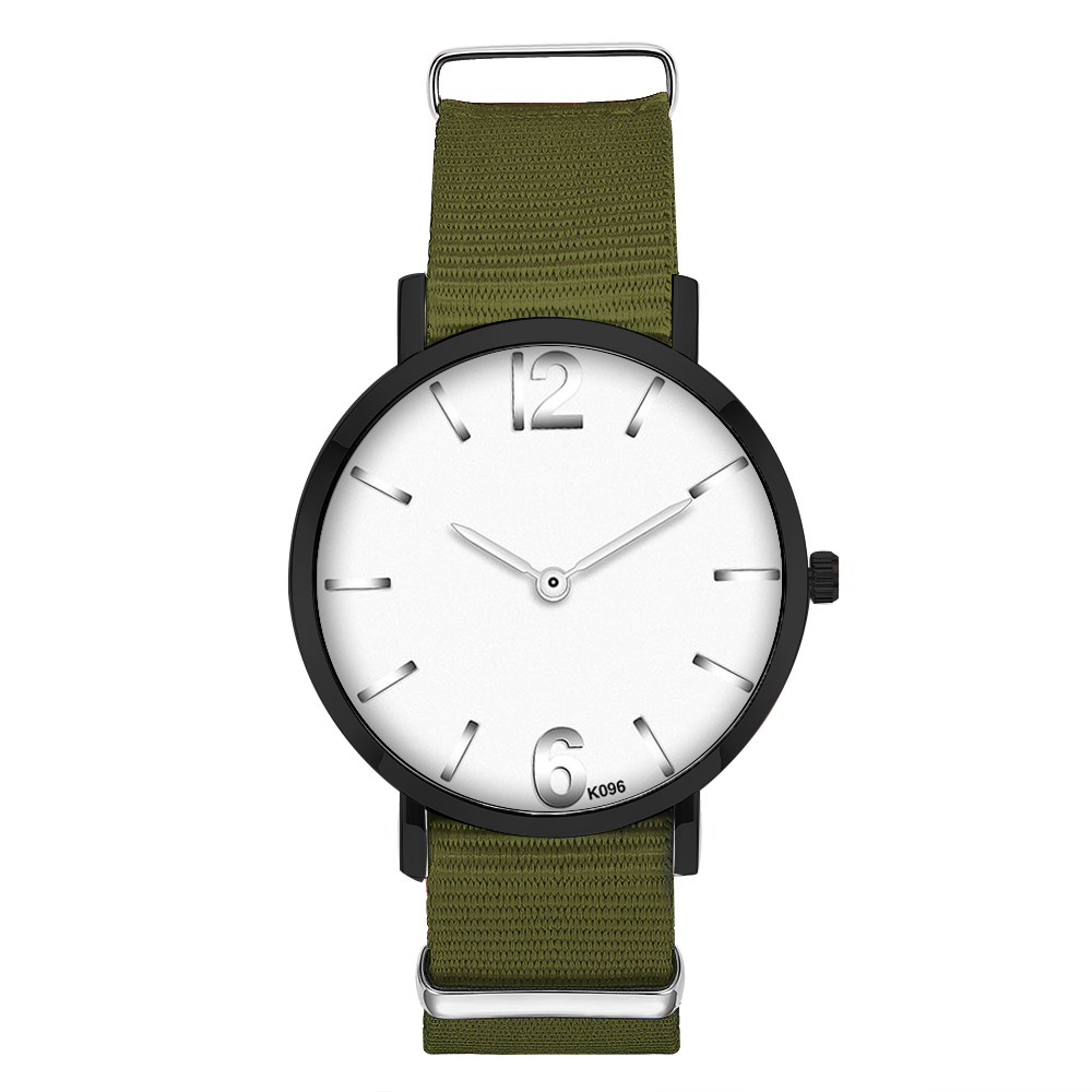 Man Watch 2019 Simple Leisure Mens Watches Nylon Men Watch Black Buckle Clock Wrist Watches Gifts for Men