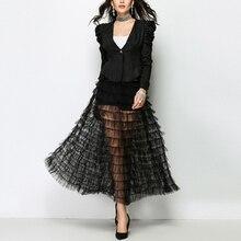 jupe élastique taille haute