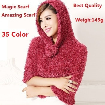Factory Sale Fashion 35 Color Diy Multifunction Magic Scarf Amazing