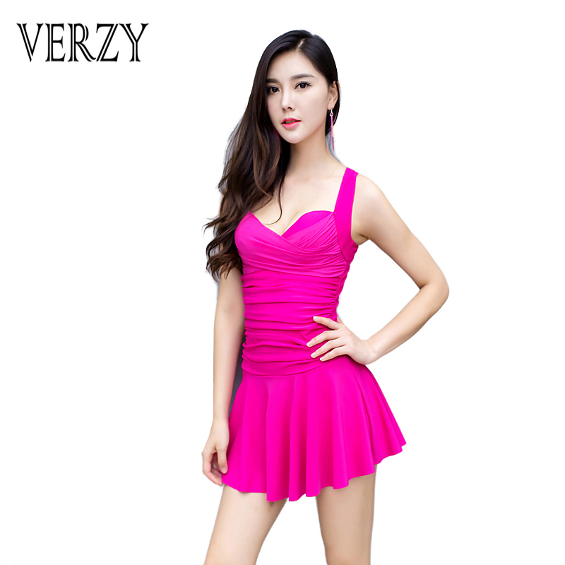 2017 Back Crossing Swimsuit for Women Solid One-piece Swimwear For Sexy Ladies Push Up Removable Pad For Women Low Neck Seaside
