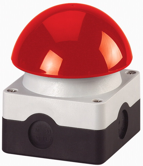 купить IP67 IP69K 1 NO + 1 NC FAK-R/KC11/1 229746 Red Mushroom Emergency Stop Pushbutton Palm Foot Switches дешево
