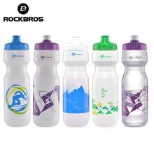 ROCKBROS Bicycle Water Bottle MTB Cycling Sport Bike Portable Kettle Water Bottle Plastic Sports Mountain Bike Drinkware 750ML