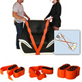 (2pcs=1pair) Forearm Forklift Lifting Moving Strap Transport Belt Wrist Straps Furniture
