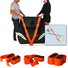 (2pcs=1pair) Forearm Forklift Lifting Moving Strap Transport Belt Wrist Straps Furniture