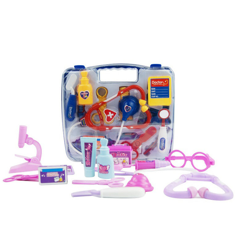 Kids Educational Pretend Play Doctor Toys Set Child Medical