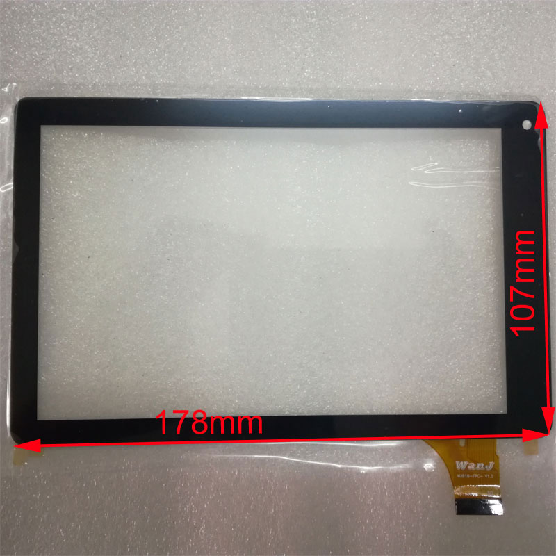 New 7 inch Tablet Parts touch screen panel Digitizer Sensor replacement for RCA VOYAGER ll Model RCT6773W22 tablet black new for 7 inch pocketbook surfpad 2 capacitive touch screen tablet computer screen digitizer sensor replacement parts