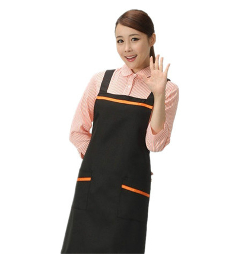 White apron kitchen - Aliexpress Com Buy Free Shipping For White Kitchen Accessories Apron Japan Cooking Cafe Aprons Korean Gifts For Women Chef Hotels Nail Aprons From