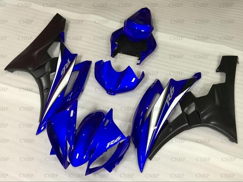YZFR6 2007 Fairings YZF600 R6 2006 - 2007 Blue Black Abs Fairing YZF600 R6 07 FairingsYZFR6 2007 Fairings YZF600 R6 2006 - 2007 Blue Black Abs Fairing YZF600 R6 07 Fairings