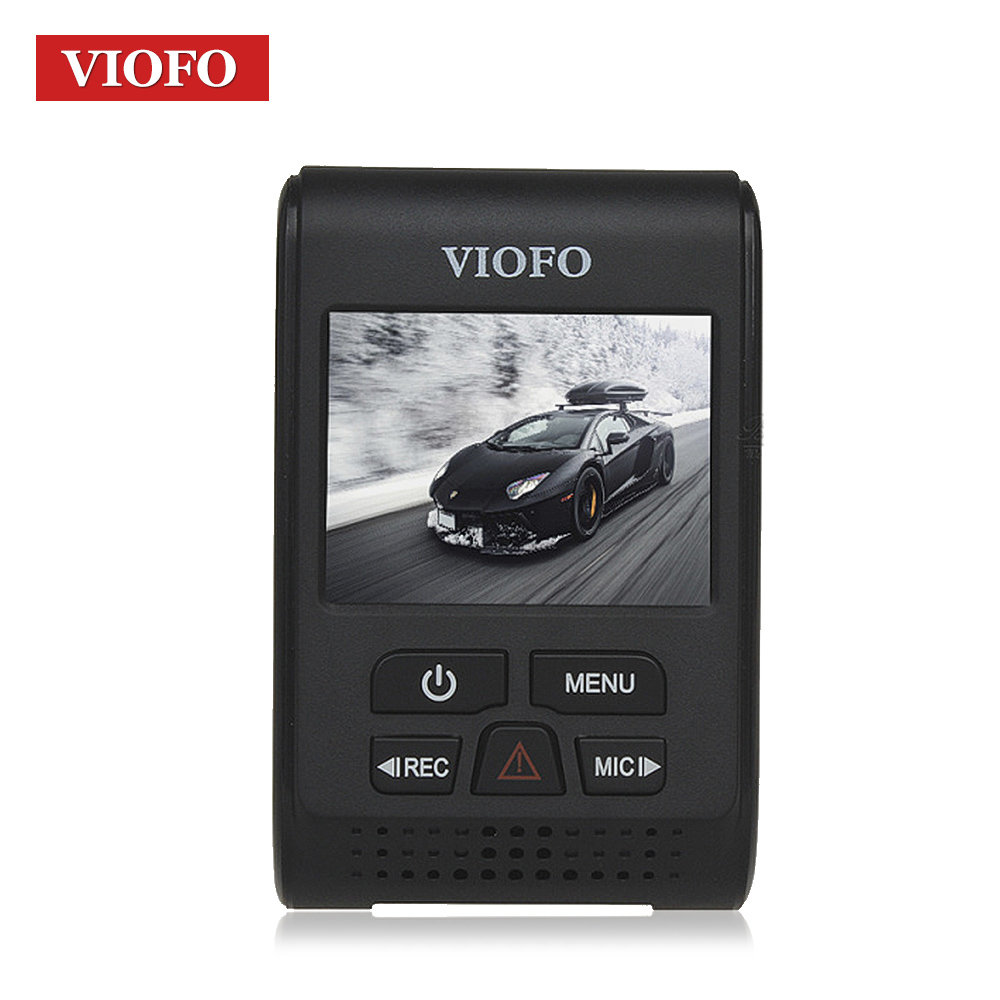 VIOFO оригинальный A119S автомобиля регистраторы 2,0 ЖК-дисплей Экран супер конденсатор NT 96660 H.264 HD 1080 P автомобиль тире камера DVR