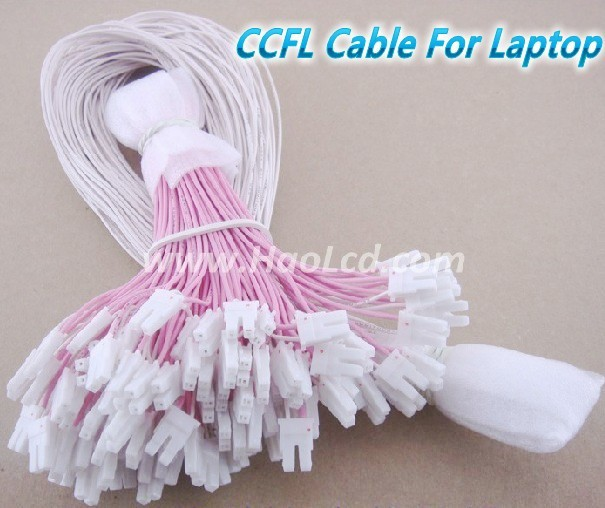 Computer & Office 10pcs Ccfl Lamps Wire Cable 60cm With 2pin Connector Support 8-19 Inch Lcd Laptop