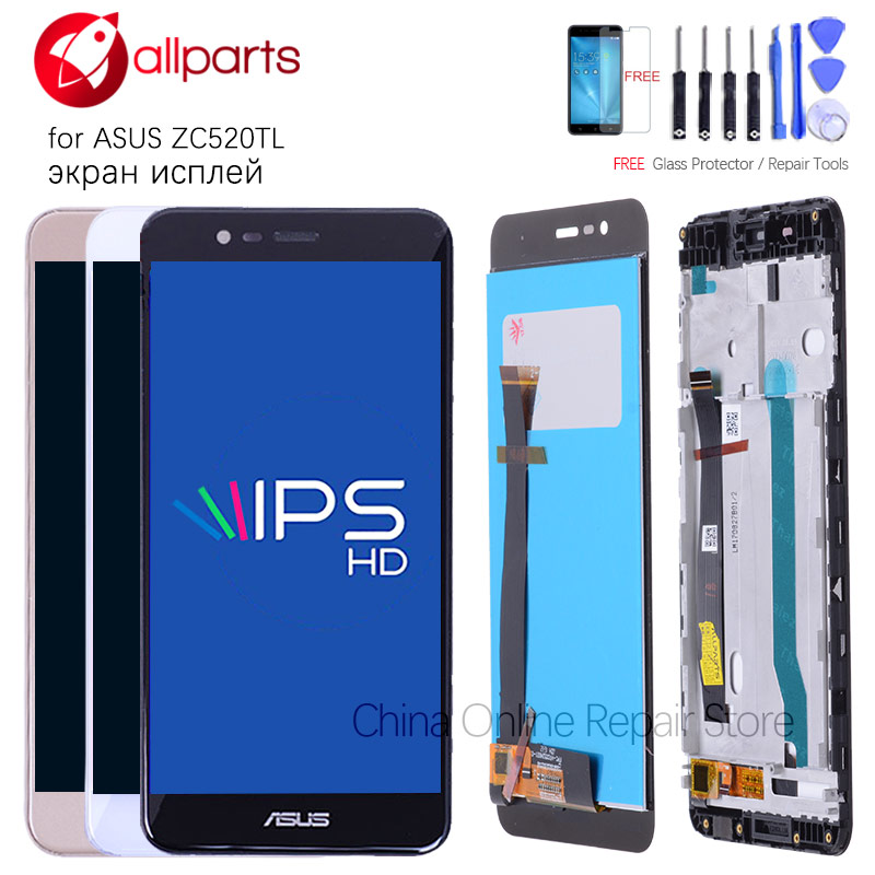 Original 5.2'' For Asus Zenfone 3 Max ZC520TL Display LCD Touch Screen Digitizer Assembly X008D ZC520TL LCD Display