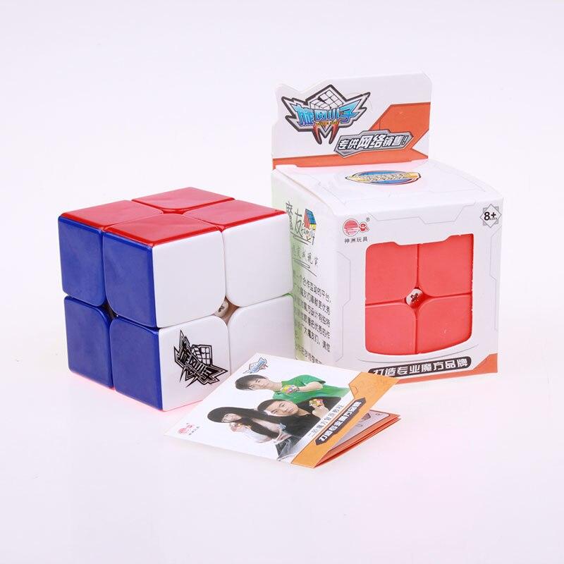 Cyclone Boys Professional Speed Magic Cube 2x2x2 Klisterlös - Spel och pussel - Foto 6