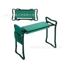A, 핸들과 정원 Kneeler 접는 스테인레스 스틸 정원 의자 EVA 무릎 패드 원예 선물 용품