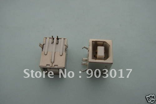 Female USB Socket Right Angle PCB Connector 4 pin  BF90 400 pcs per lot Hot Sale Buy it now!