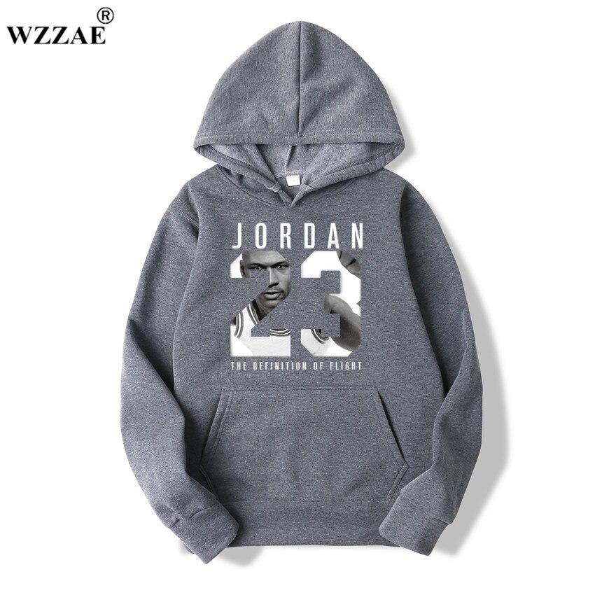 WZZAE 2019 Brand  New Fashion JORDA 23 Men Sportswear Print Men Hoodies Pullover Hip Hop Mens tracksuit Sweatshirts Clothing 3