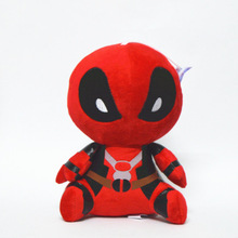 20cm Marvel Movie X-man Deadpool Doll Soft Spider man Plush Toy Brinquedo Kids Toys Gift