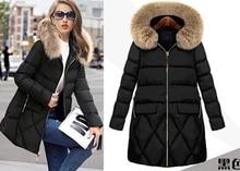 2017 Winter Down Jacket Women Long Coat Parkas Jackets Female Warm Clothes High Quality Women Down