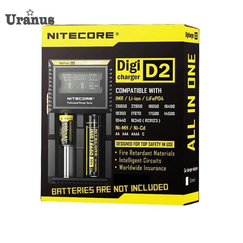 original font b Electronic b font font b cigarette b font Nitecore D2 Digcharger Battery Charger
