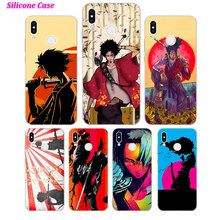 Silicone Phone Case Anime Samurai Champloo for Huawei P Smart 2019 Plus P30 P20 P10 P9 P8 Lite Mate 20 10 Pro Lite Nova 3i Cover цены