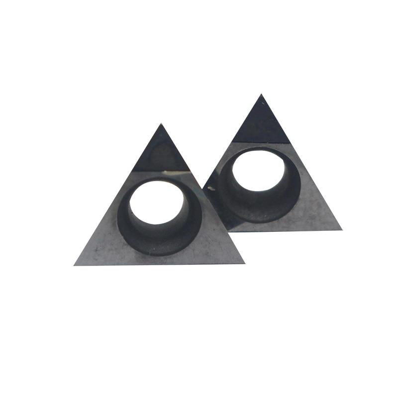 2pcs WNMG 432 PCD cnc inserts WNMG080408 PCD Turning Tool Diamond for aluminium