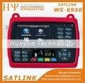 Original satlink ws 6950 3.5 polegada digital signal satellite finder medidor ws6950 ws-6950 frete grátis