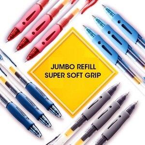 Image 5 - Ручка гелевая M & G NO.1 выдвижная, 0,5 мм, черная, синяя, красная