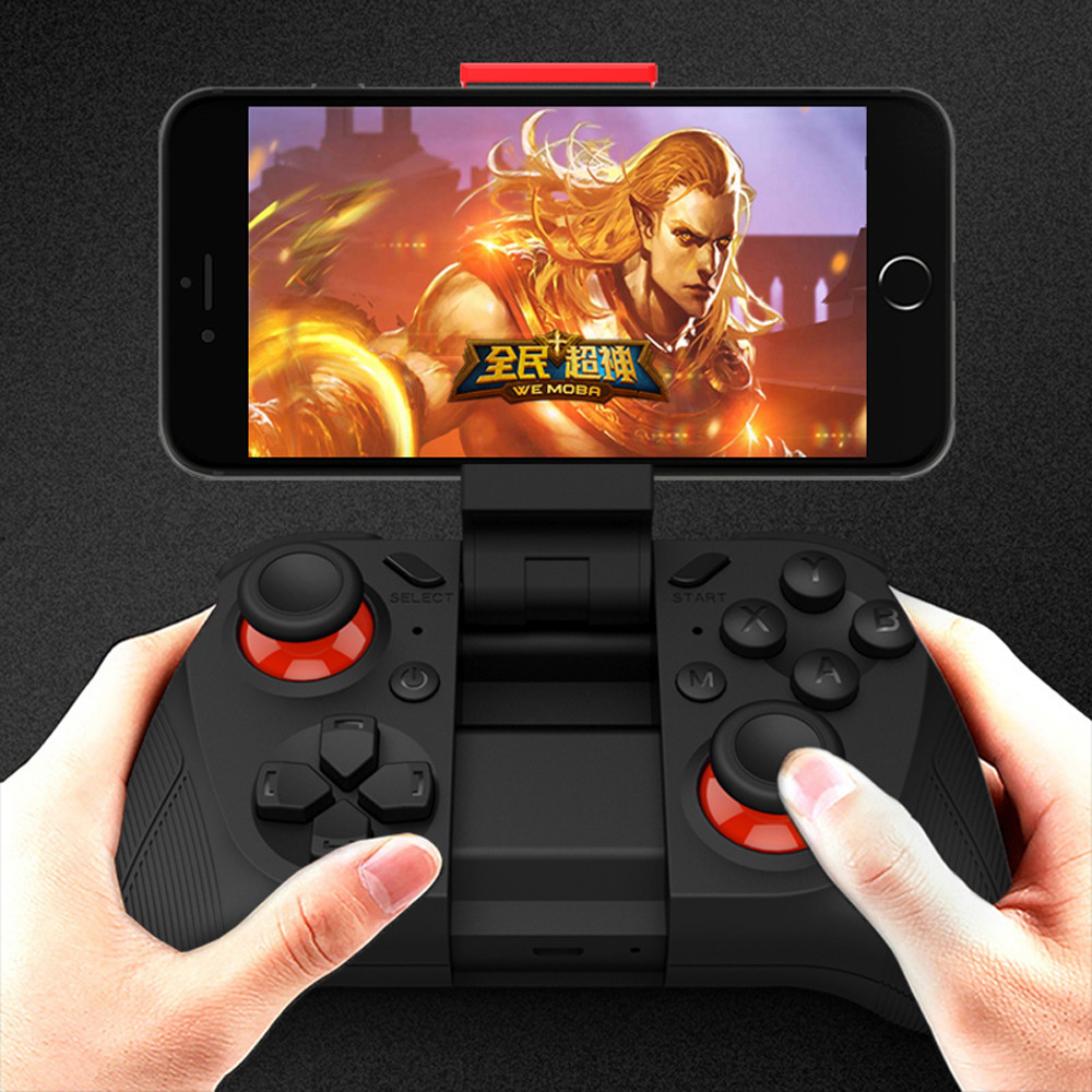 2016 New Wireless MOCUTE Game Controller Joystick Gamepad Joypad For Smart Phones Android iOS Tablets ET740