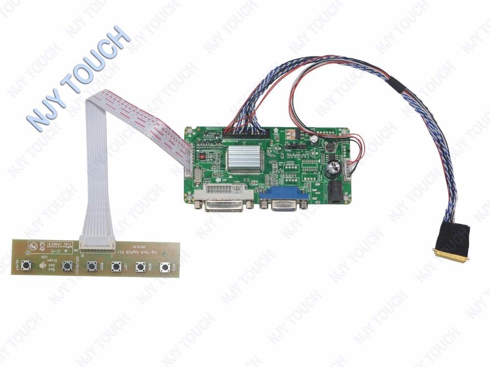 HDMI+DVI+VGA+AUDIO LCD Controller Board for N173HGE-L21 1920*1080 DIY PC Monitor