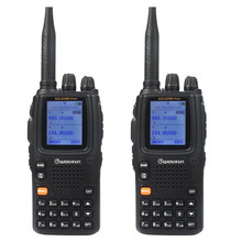 WOUXUN KG-UV9D Walkie Talkie Two Way Radios VHF 136-174 UHF 400-512MHz Dual Band Radio Seven Band Reception Duplex Mode TWIN TX