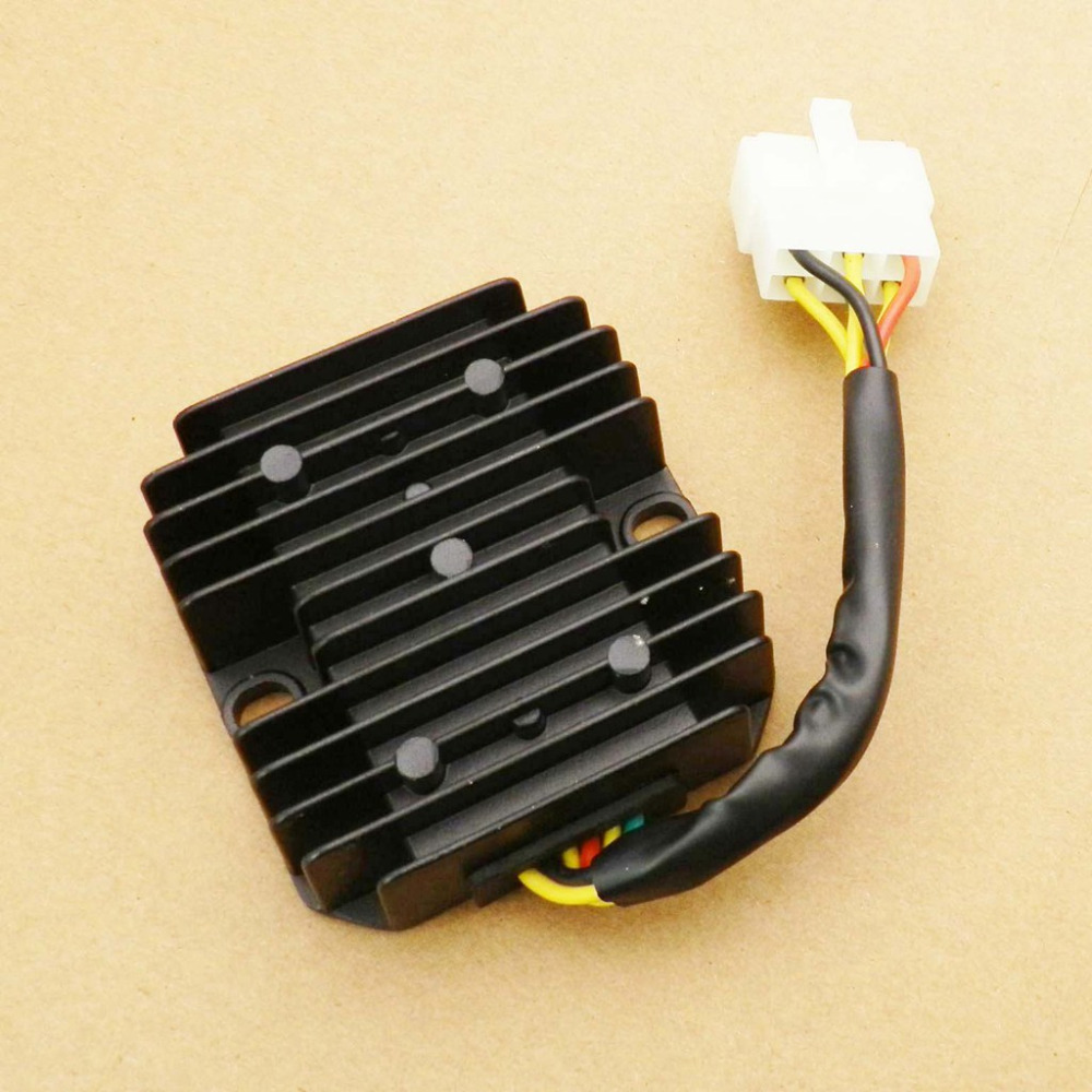 6 Wires Voltage Regulator Rectifier Quad 1 Plug For Honda Gy6 125cc Wiring 150cc Scooter In Motorbike Ingition From Automobiles Motorcycles On