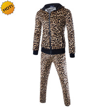 HOT 2016 indoor Autumn winter Gold and grey Leopard grain Cardigan font b Hoodies b font