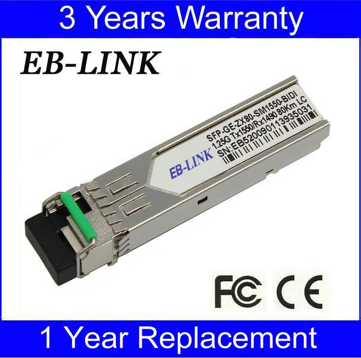 Για Cisco Compatible GLC-BX-D80, TX1550 / RX1490nm 1.25G - Εξοπλισμός επικοινωνίας