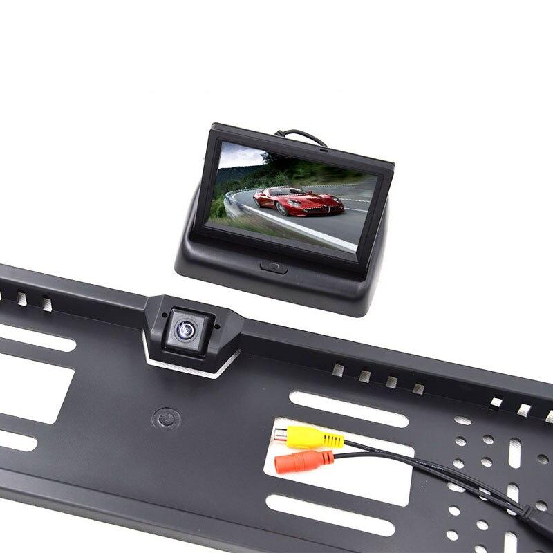 European License Plate Frame
