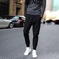 Мужские бегунов брюки мужчины повседневная гарем штаны твердые тренировочные брюки плюс размер 3XL 4XL 5XL pantalones hombre homme pantalon