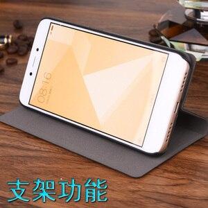 Image 3 - Für Xiaomi Redmi 5A Fall Luxus Dünne Art Flip Leder Brieftasche Fall Für Xiaomi Redmi 5a Karte Halter Telefon Tasche