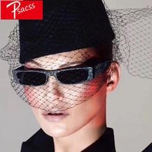 Psacss Small Imitation Diamond Sunglasses Women Fashion Glasses Womens Sexy Vintage Brand Designer Mirror lunette soleil femme