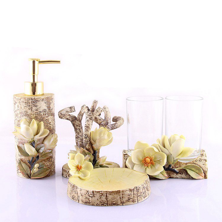 Free Shipping Fashion Decoration Tree Home Bathroom Set Accessories  Acessorios Para Banheiro