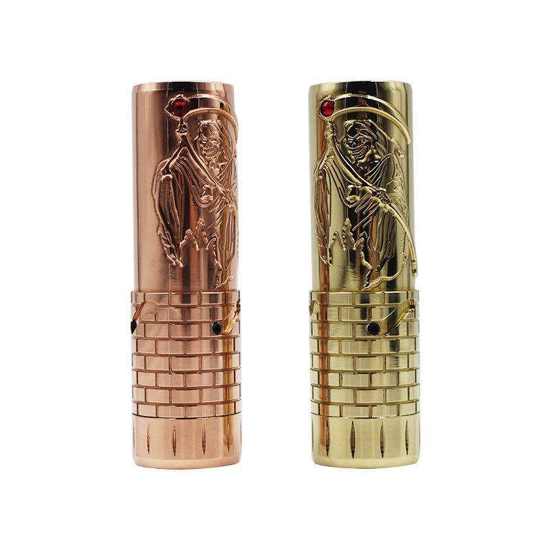 Date Hades Mech Mod pour 18650 20700 21700 batterie 510 fil 26.5mm diamètre mécanique Mod Hardess Vape stylo vaporisateur Mods
